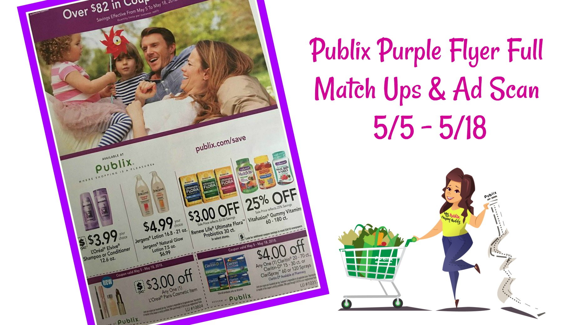Purple Flyer Full Match Ups And Ad Scan 55 518 My Publix