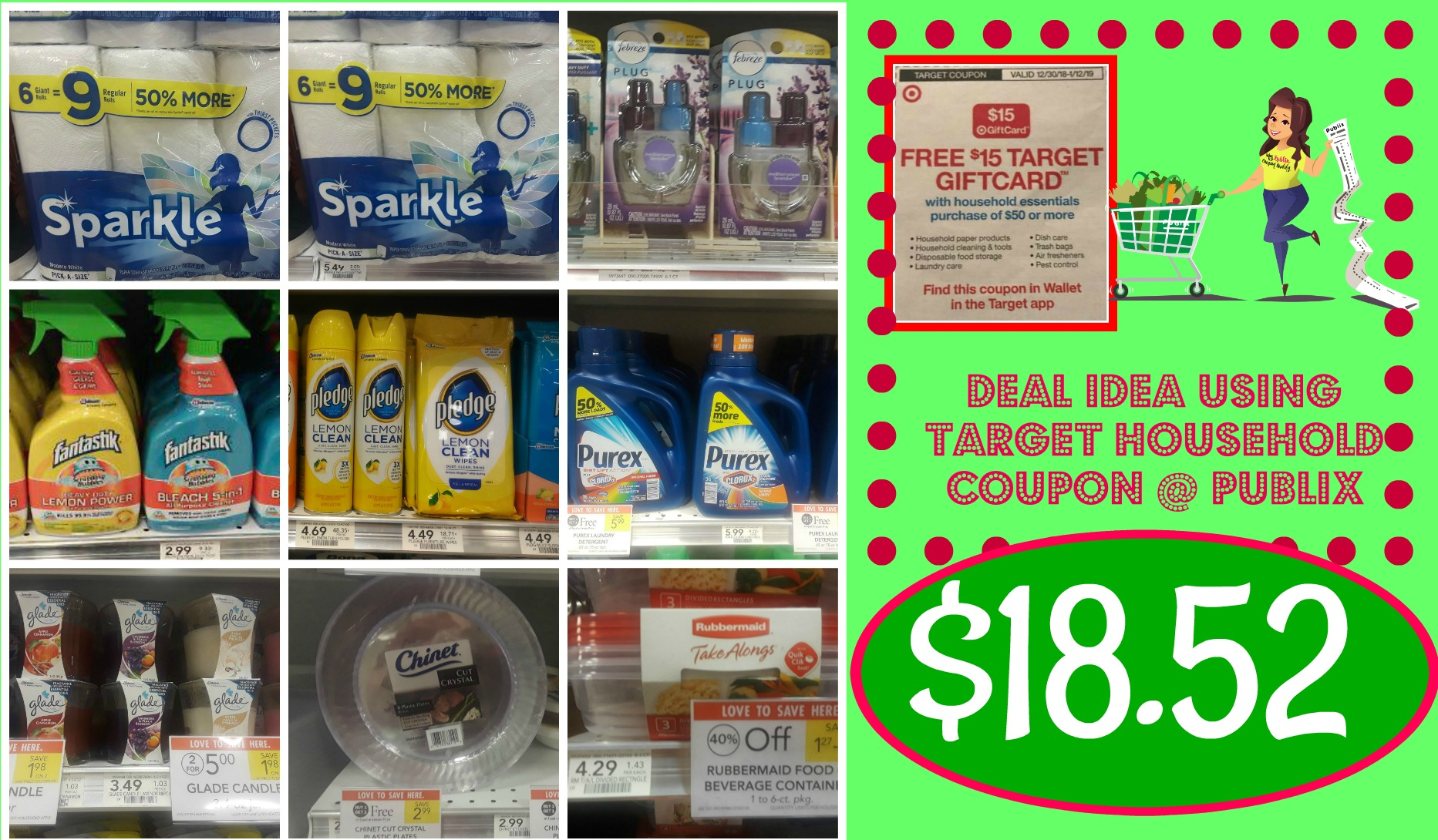 Target Household Coupon Idea At Publix 12 30 12 31 Only