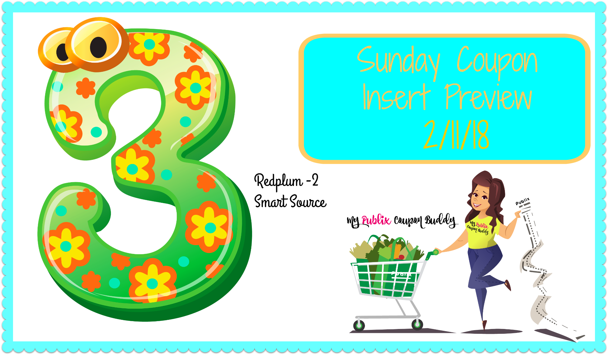 Sunday Coupon Insert Preview 2 11 18