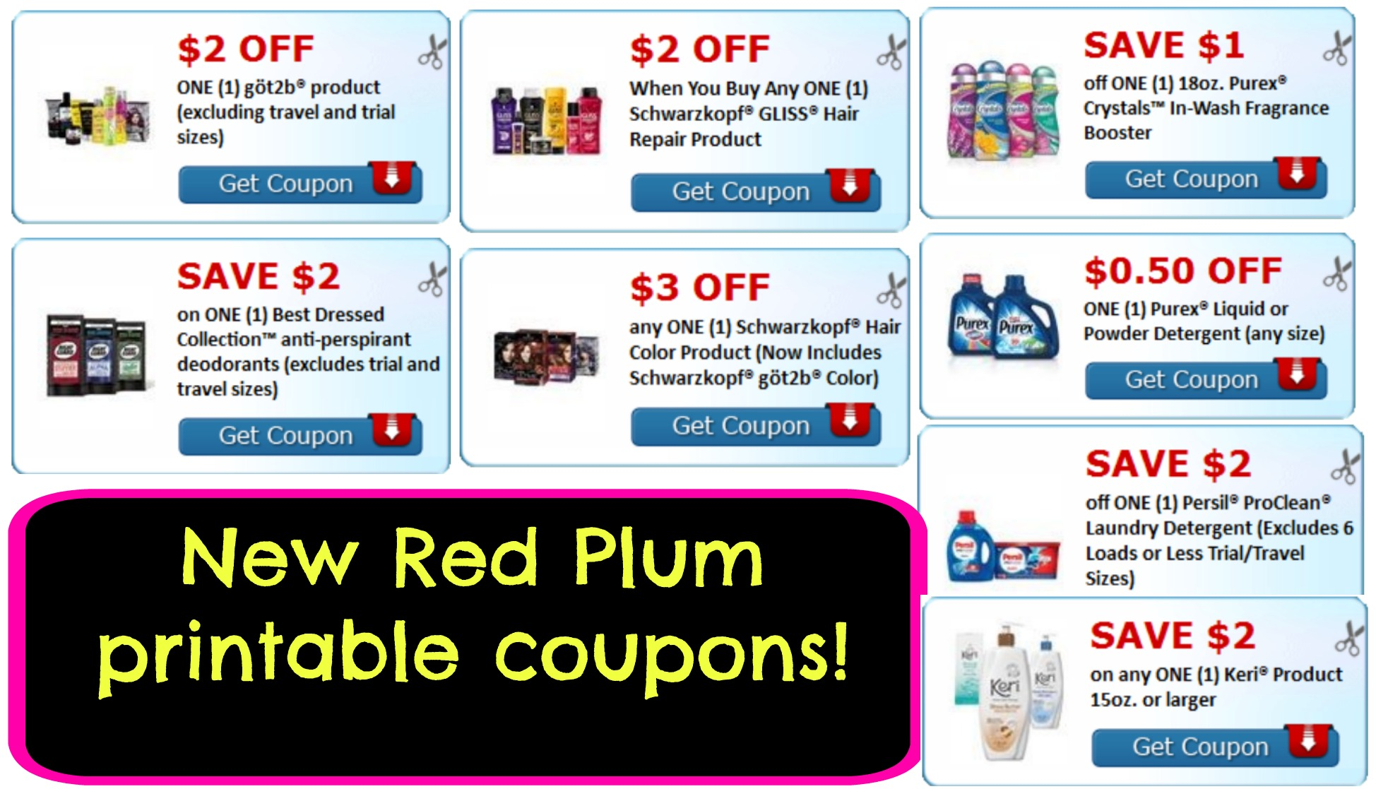 new red plum printable coupons couponing united states my publix coupon buddy