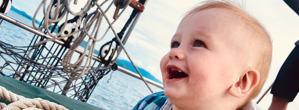 It's never too young to start sailing