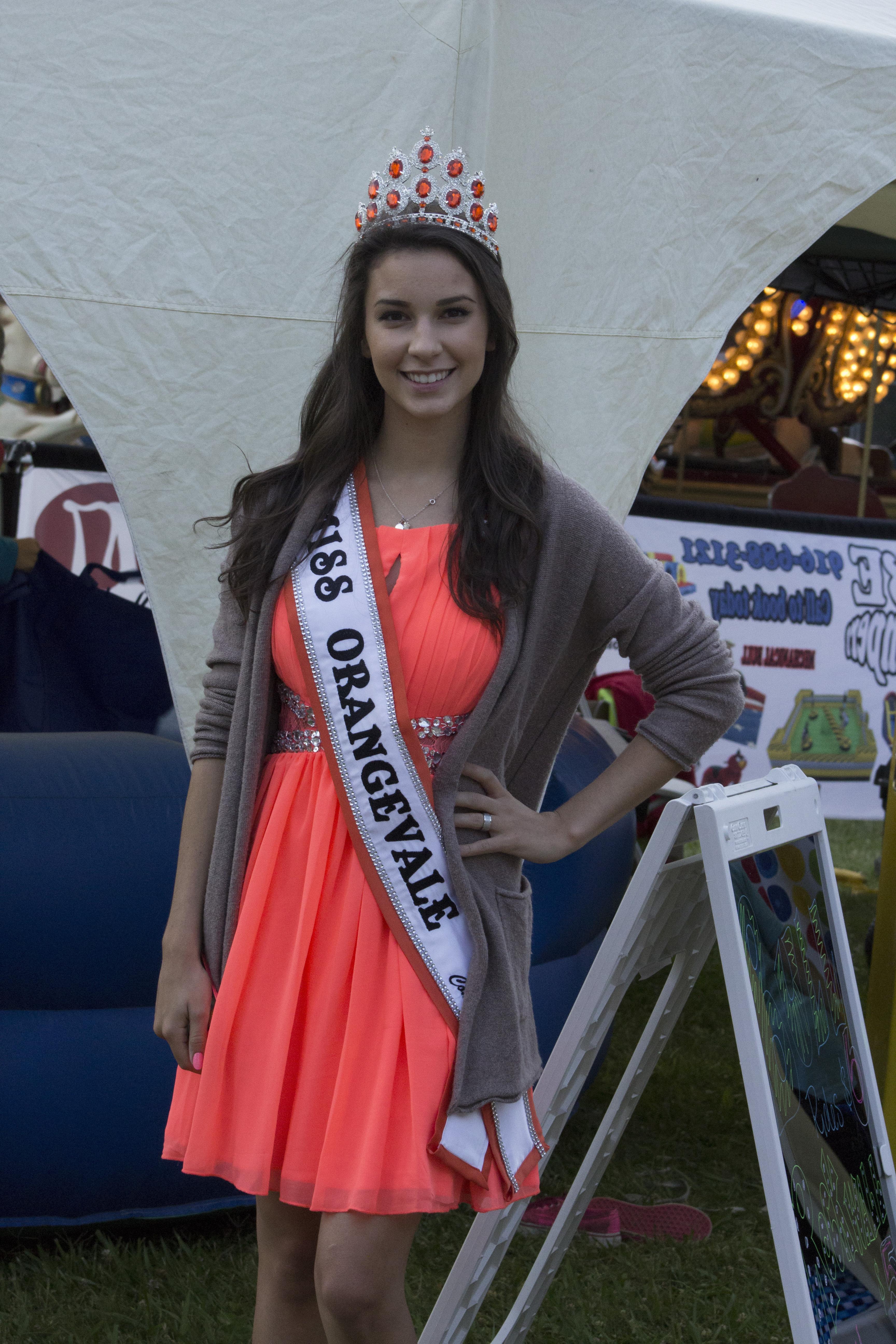 2015 Miss Orangevale