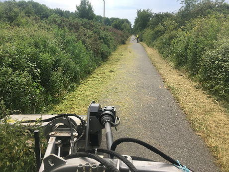 Cycle track maintenance works 2017