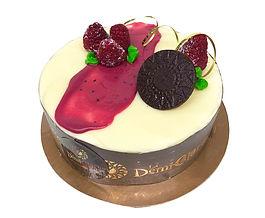 Gâteau Le framboisier
