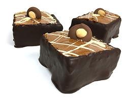 Carré aux noix et chocolat