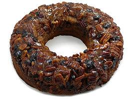 Gâteau La couronne bananes et canneberges