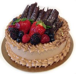Gâteau Le crème au chocolat belge au chocolat