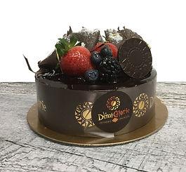 Gâteau Le 3 chocolats