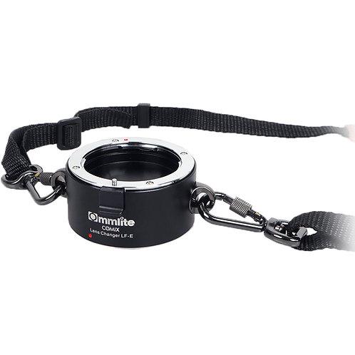 Correa Sujetadora de 2 lentes Commlite CM-LF-E para montura Sony E
