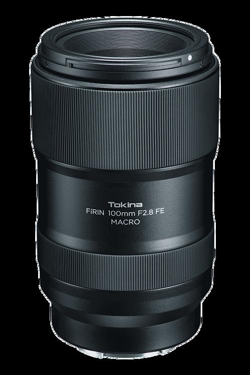 Lente Tokina Fírin 100mm F2.8 FE Macro, Autofocus, para Sony E
