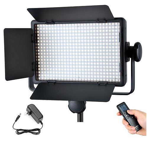 Luz LED Godox LED500W Blanco + Adaptador AC + DMX
