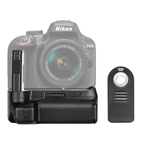 Battery Grip para Nikon D3400.