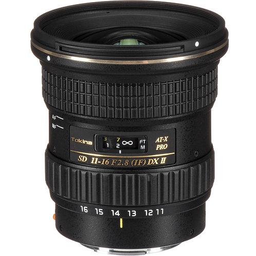Lente Tokina AT-X 116 Pro DX II, 11-16mm f2.8 Autofocus para Sony A, A