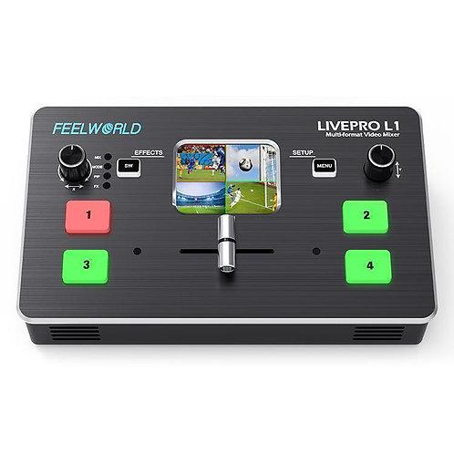 Mezclador de video Feelworld LivePro L1