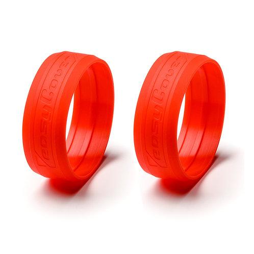 Anillos EasyCover para lentes - Rojo
