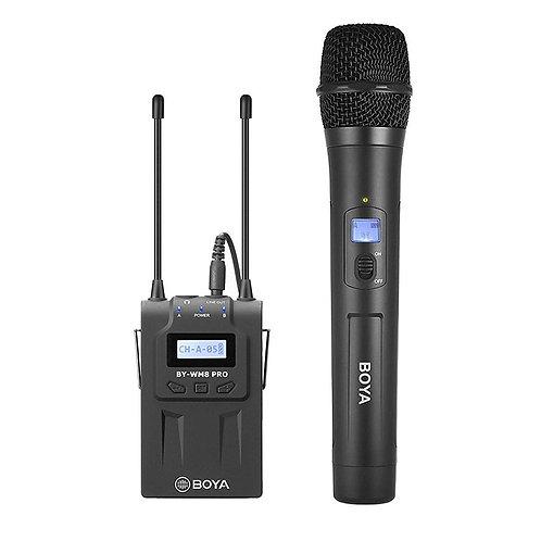 Kit Microfonos Inalambricos Profesionales Boya BY-WM8 PRO K3
