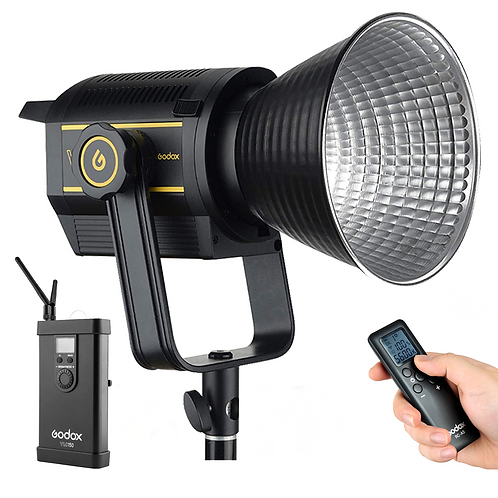Luz Continua LED Godox VL150, de 150 watts, alimentación AC y por baterías