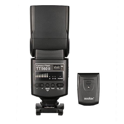 Flash Godox TT560II + Trigger RT-16