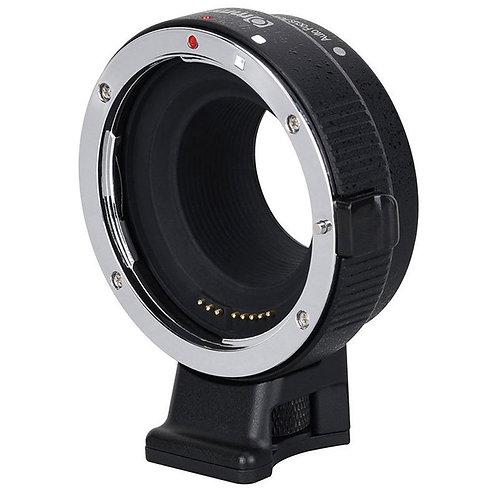 Adaptador automático Commlite CM-EF-EOSM, lentes Canon EF en cámaras Canon M