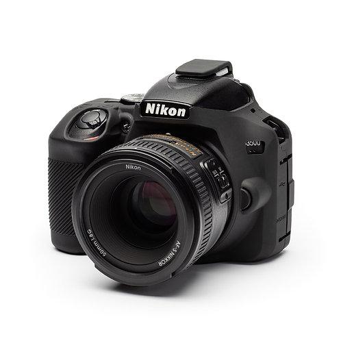 Carcasa easyCover Nikon D3500, Negro + Mica