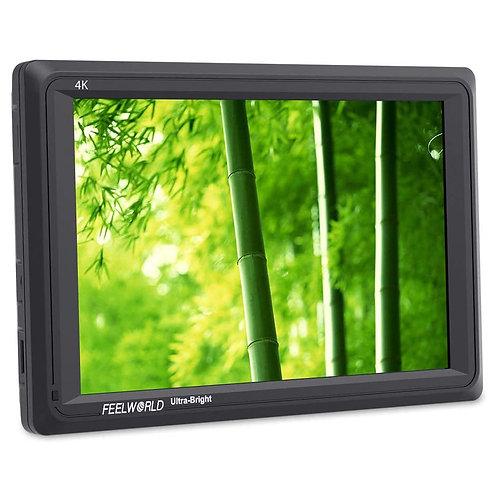 """Monitor FeelWorld FW279, 7"""", FULL HD, 4K HDMI, 2200 cd/m2, ultrabrillante"""