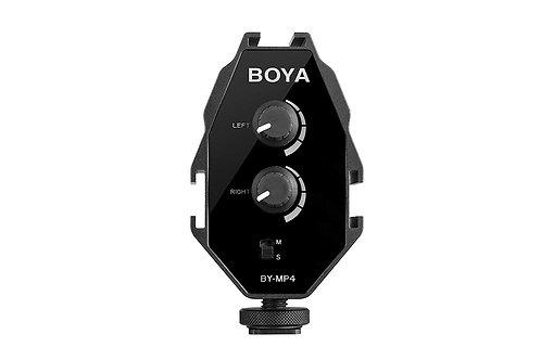 Adaptador de audio Boya BY-MP4
