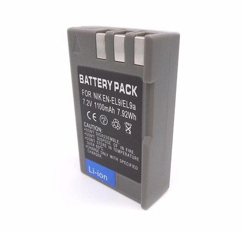Bateria generica EN-EL9a 1100 mAh para Nikon