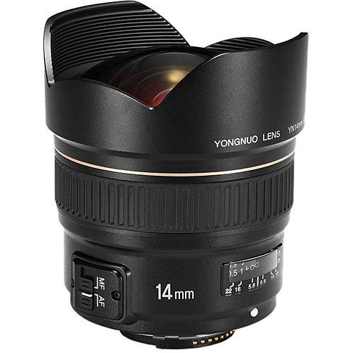 Lente Yongnuo YN14mm F2.8N para Nikon