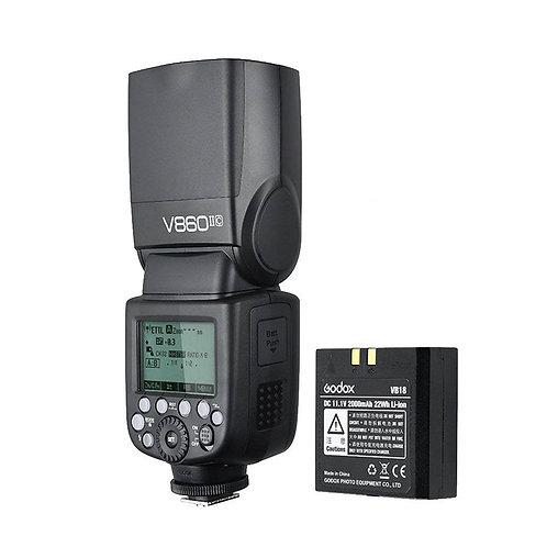 Flash Godox Ving V860II C X Canon Batería Li-ion Ettl Hss