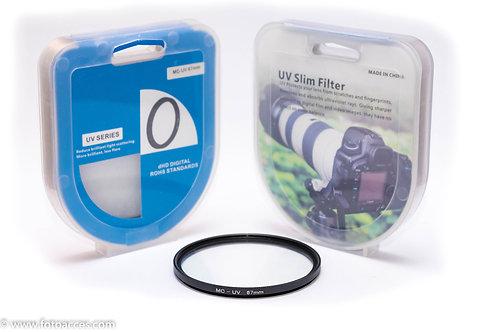 Filtro Ultravioleta Multicapa MC UV de 67mm.