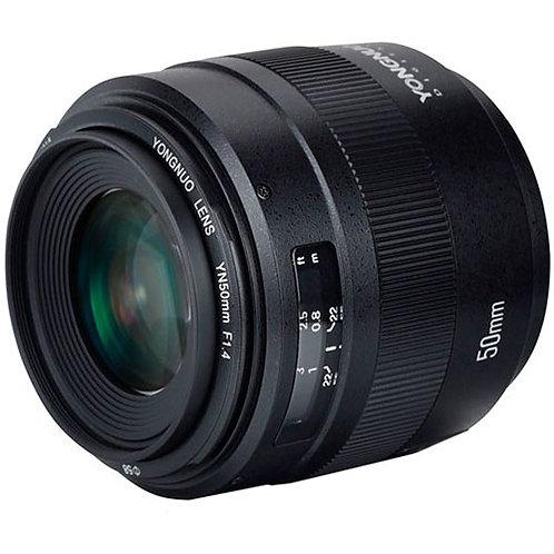 Lente Yongnuo YN50mm F1.4C, 50MM, f1.4 para Canon