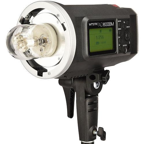 Flash de estudio Godox Witstro AD600BM + Bateria Litio