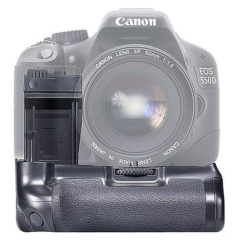 Battery Grip Generico BG-E8 para Canon 550D, 600D, 650D, 700D, T2i, T3i, T4i,T5i