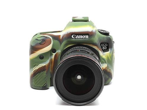 Carcasa easyCover Canon 6D, Camuflaje + Mica