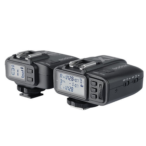 Kit Disparadores Godox X1-C eTTL HSS para Canon