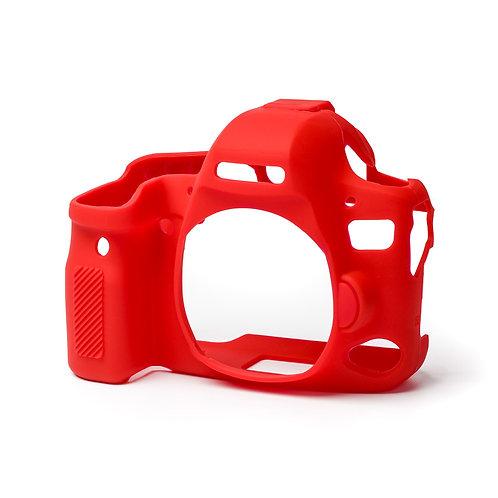 Carcasa easyCover Canon 6D Mark II, Rojo + Mica