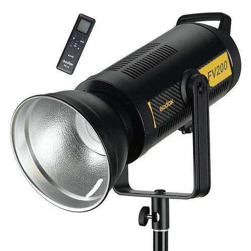 Luz Continua LED / Flash Godox FV200, de 200 watts, HSS