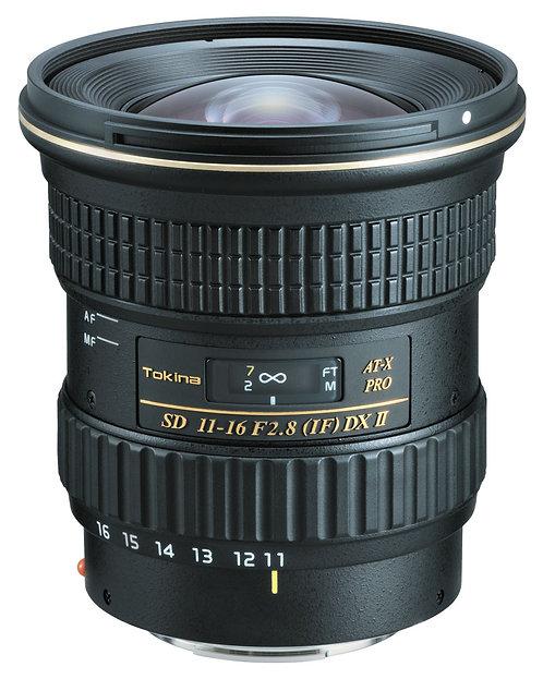 Lente Tokina AT-X 116 Pro DX II, 11-16mm f2.8 Autofocus para Canon EF, AP