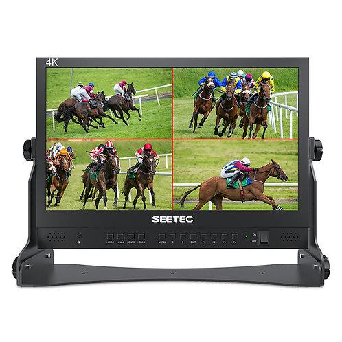 """Monitor de Director Seetec ATEM156, de 15.6"""", 4 x entradas / salidas HDMI 4K"""