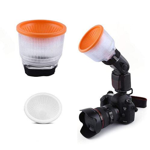 Difusor universal para flashes de cámara
