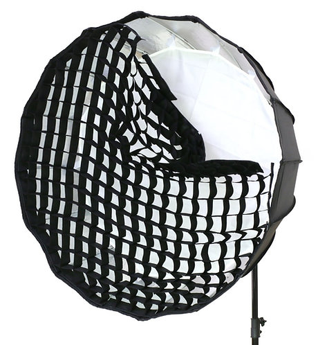 Softbox Parabolico Octogonal Godox P90H, 90cm, acople Bowens + Panal