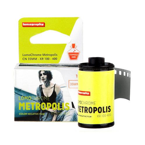 Lomography LomoChrome Metropolis XR ISO 100-400 Color, 36 exposiciones