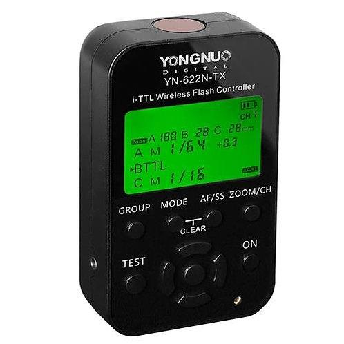 Transmisor disparador Yongnuo YN622N-TX, i-TTL, HSS, para Nikon