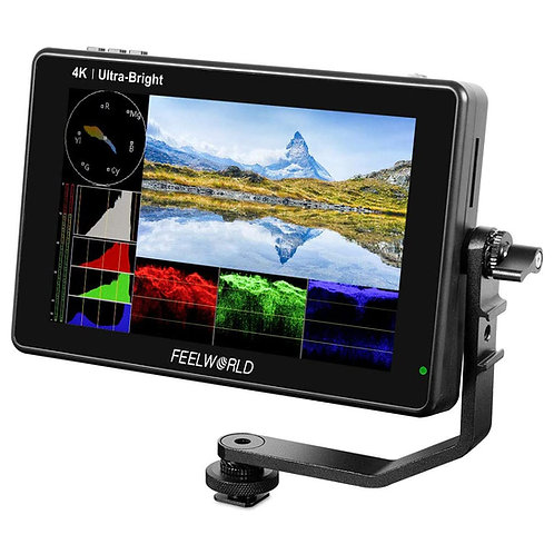 "Monitor FeelWorld LUT7, 7"", FULL HD, 4K HDMI, Táctil, 2200 cd/m2, ultrabrillante"
