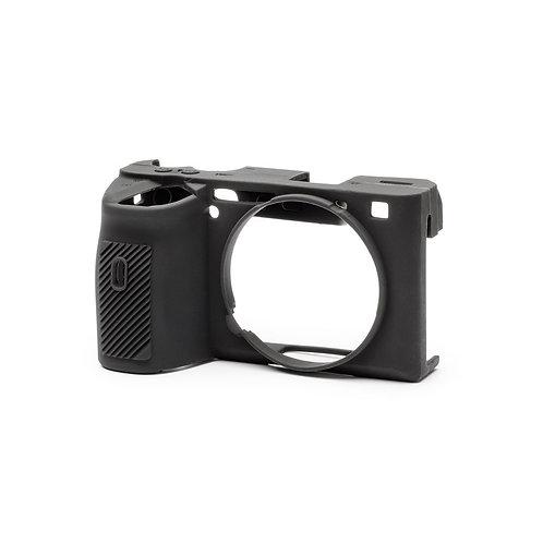 Carcasa easyCover Sony A6600 Negro + Mica