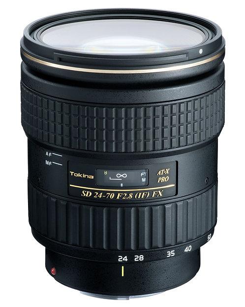 Lente Tokina AT-X 24-70mm F2.8 FX, Autofocus para Canon EF