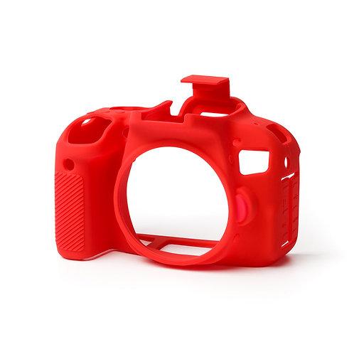Carcasa easyCover Canon 800D / T7i Rojo + Mica