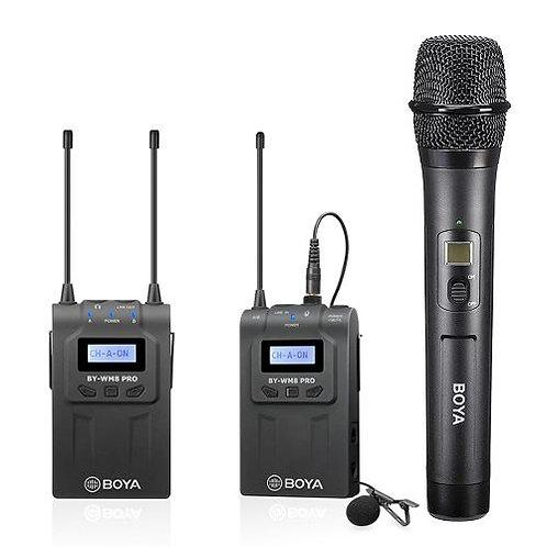 Kit Micrófonos Inalambricos Profesionales Boya BY-WM8 PRO K4
