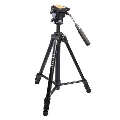 Tripode de video KingJoy VT-1500, 167cm, 10kg.
