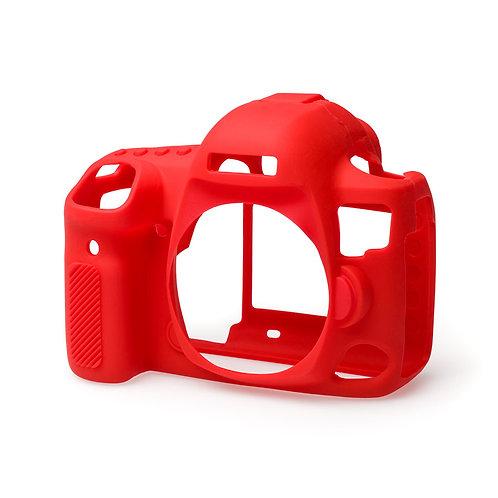 Carcasa easyCover Canon 5D Mark IV, Rojo + Mica